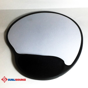 Gel Mousepad with Wrist Rest and Sublimatable Insert