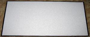 Floor Mat 18x24 with Needlepoint Felt