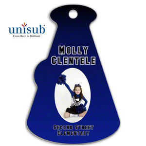 Unisub™ FRP 2Sided Megaphone Bag Tag - INVENTORY CLOSEOUT