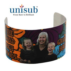 Unisub™ Semi-Gloss White Extra Large Cuff Bracelet - INVENTORY CLOSEOUT