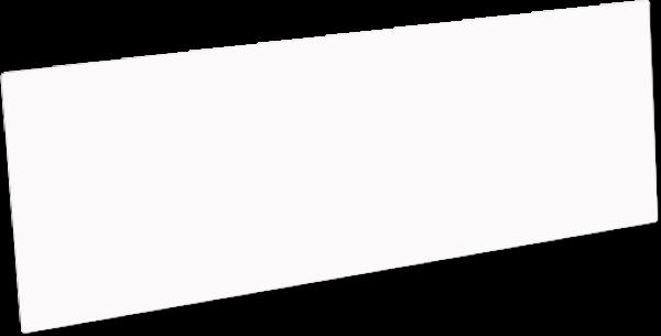 Unisub™ Chromaluxe 12 x 24 inch Gloss White Photo Panel - INVENTORY CLOSEOUT
