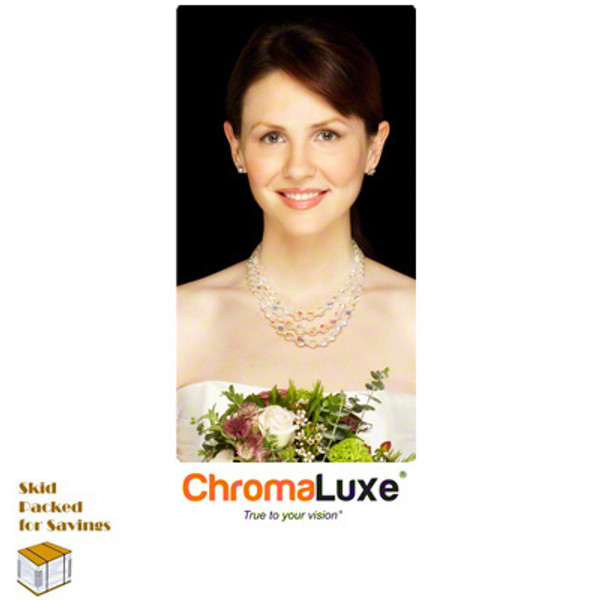 Unisub™ Chromaluxe 18 x 36 inch Gloss White Photo Panel - INVENTORY CLOSEOUT