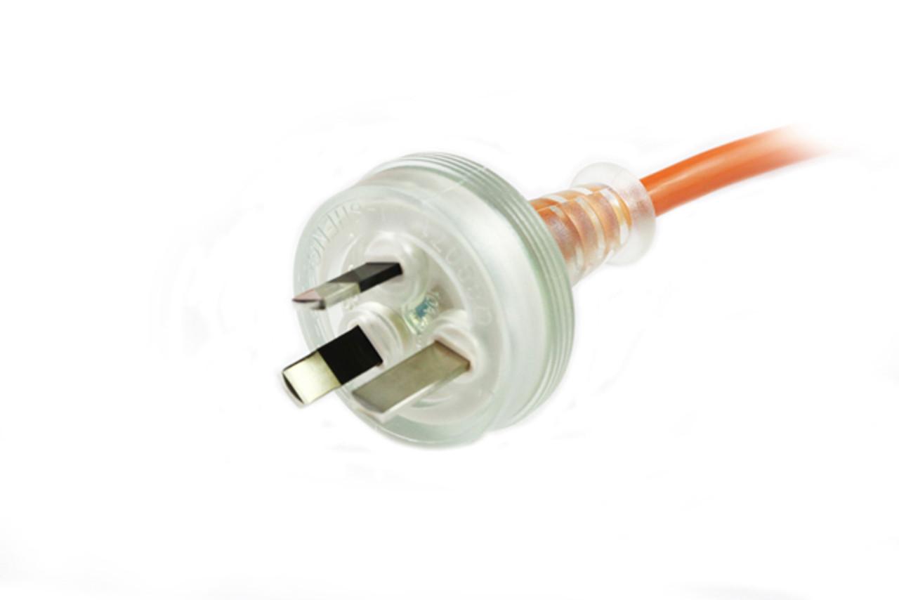 2M Medical Power Cable Orange