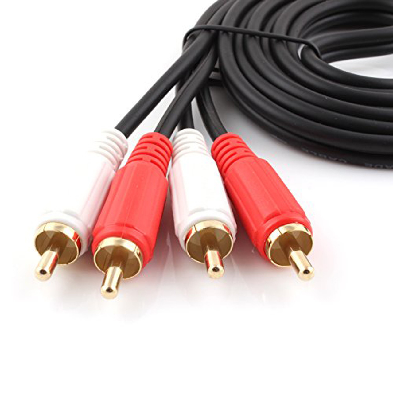 1M 2RCA to 2RCA Audio Cable OFC