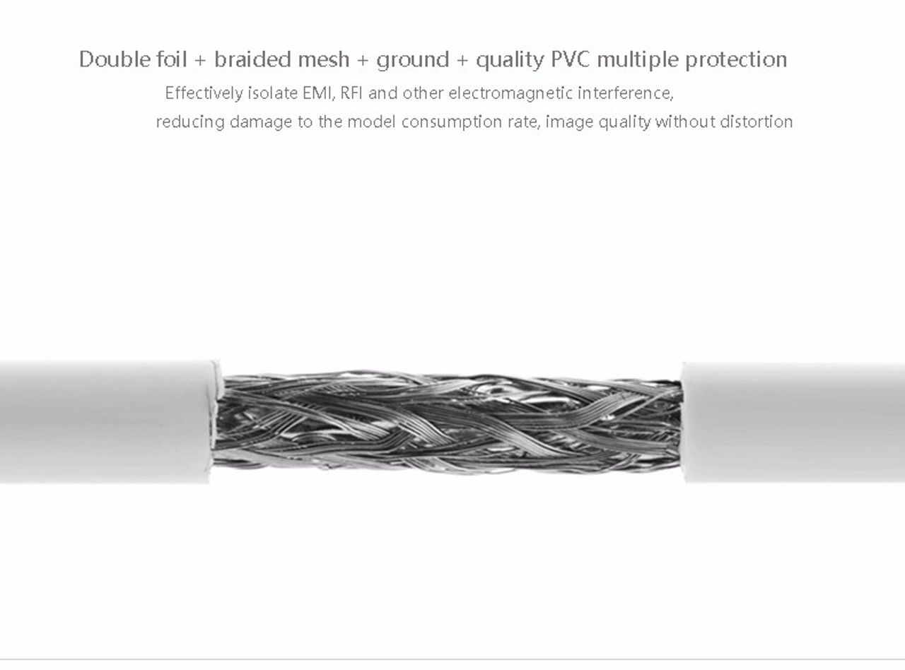 2M Mini Displayport to DVI-D Cable White
