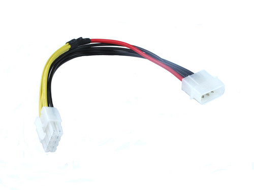 15CM EPS 8Pin To Molex 4Pin Cable