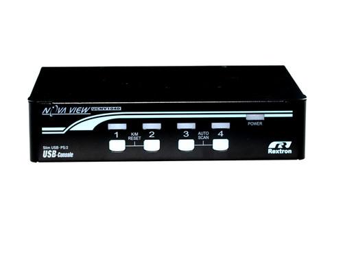 Rextron 4 Port DVI PS/2 KVM Switch