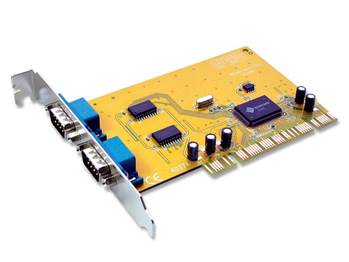 PCI 2 Port Serial Card Supports Windows 10