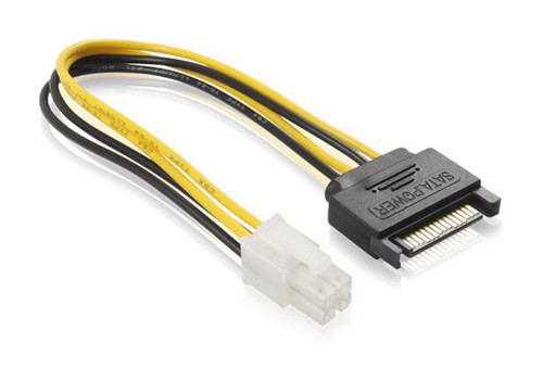 15CM SATA M To ATX P4 Power cable