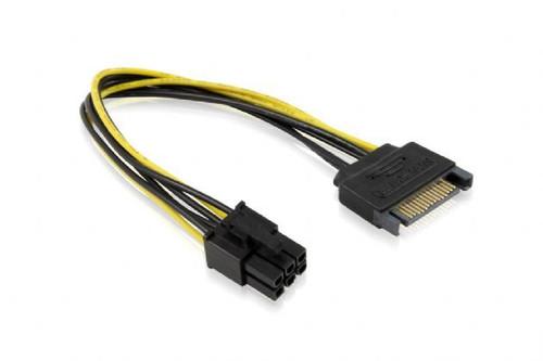 15CM SATA M To ATX P6 Cable
