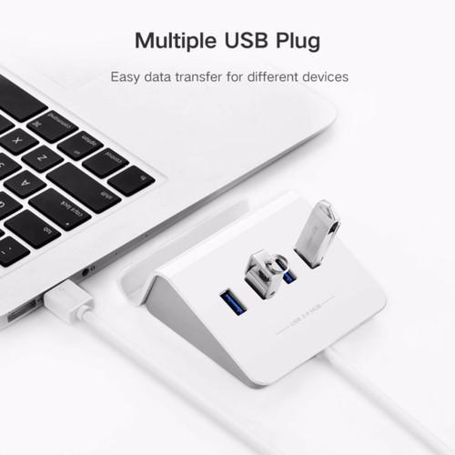 USB 3.0 4 Port OTG Hub with Cradle