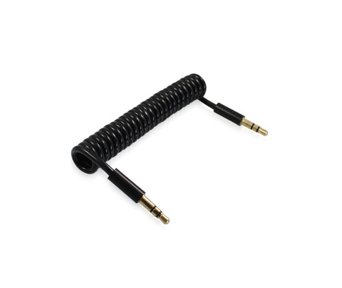 1M Coiled 3.5mm Audio Cable