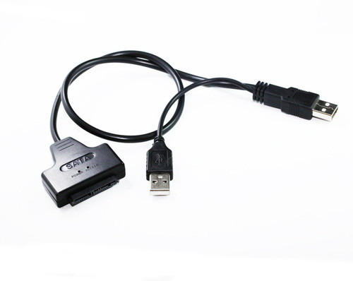 50CM USB 2.0 to Micro SATA Adaptor