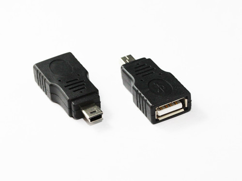 Mini USB 5Pin Male to USB 2.0 AF Adaptor