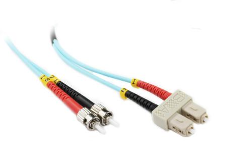 15M SC-ST OM3 50/125 Multimode Duplex Fibre Patch Cable
