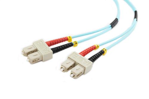 1M SC-SC OM3 50/125 Multimode Duplex Fibre Patch Cable