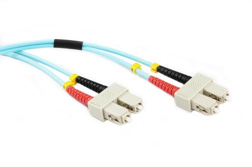 0.5M SC-SC OM3 50/125 Multimode Duplex Fibre Patch Cable