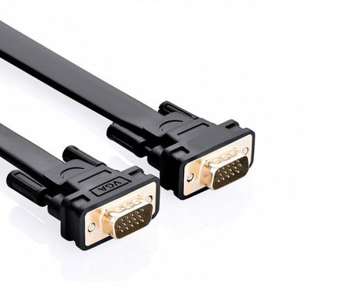 1M Flat SVGA Cable HD15 M/M