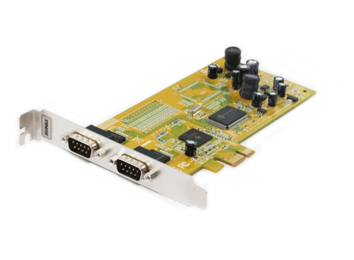 PCI Express 2 Port  RS232 Serial Card