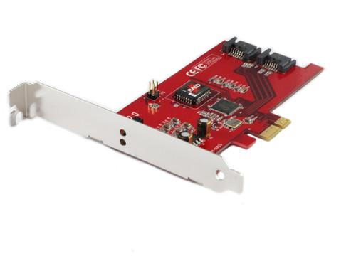 SATA II 2-channel RAID PCIe Card