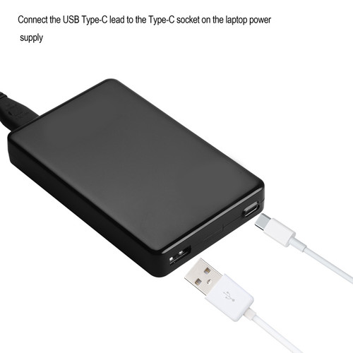 60W Universal Type-C Laptop Power Supply/Charger( Black Colour ) )