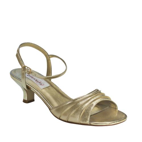 Dyeables Women's Brielle Ankle Strap Sandal