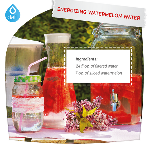 Energizing watermelon water