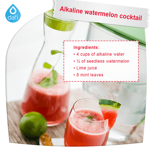 Alkaline Watermelon Cocktail