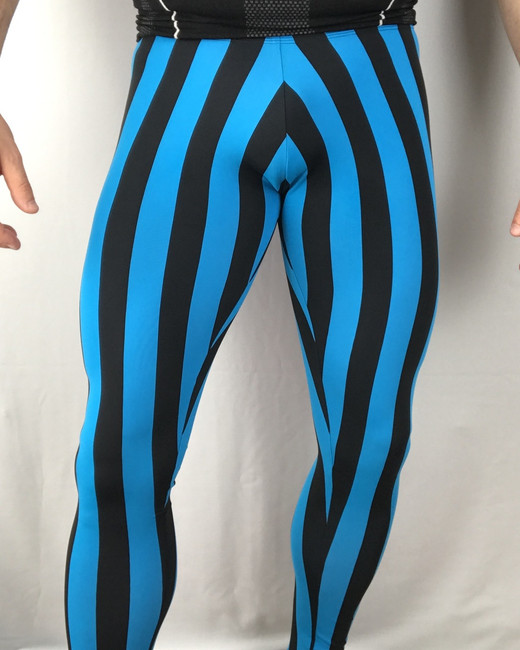 Black & Blue Stripes