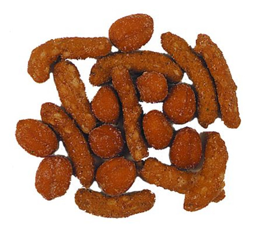 Honey Cajun Mix (Peanuts, Cajun, Sesame Sticks, Honey Sesame Sticks)