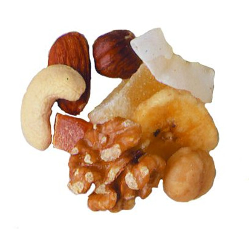 Hawaiian Mix (Pineapple, Dates, Papaya, Coconut, Walnuts, Peanuts, Almonds, Raw Cashews, Macadamia nuts