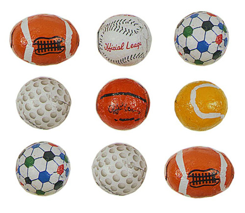 Chocolate Sports Balls