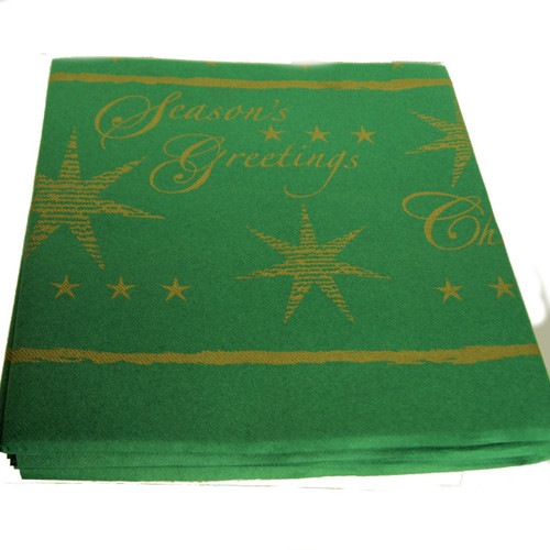 Pack x 10 Swantex 120 x 120cm Textured Star Green Quality Slip covers