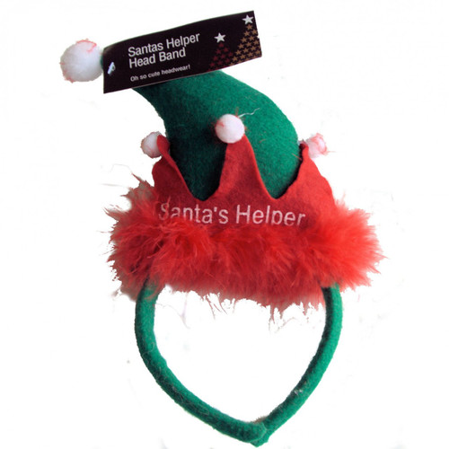 Santas Little Helpers Party Head Band