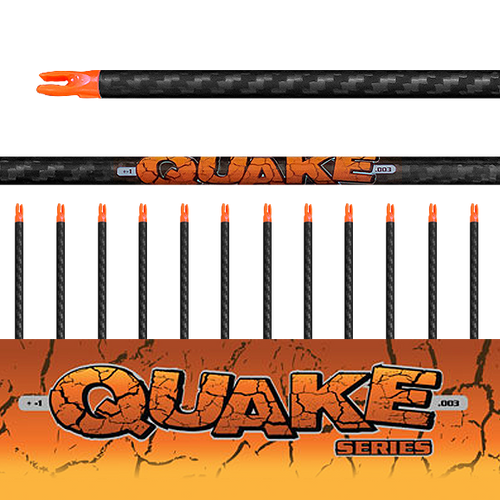 (12) Unfletched Quake Arrows