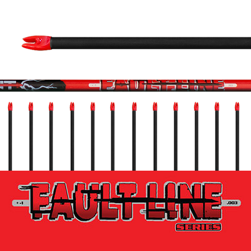 (12) Unfletched Fault Line Arrows