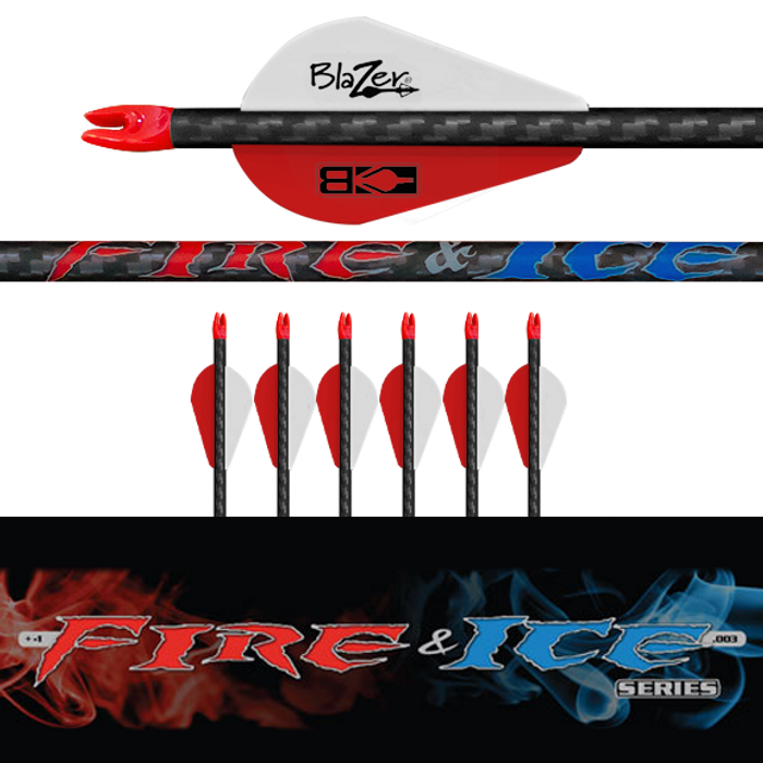 (6) Fletched Fire & Ice Arrows