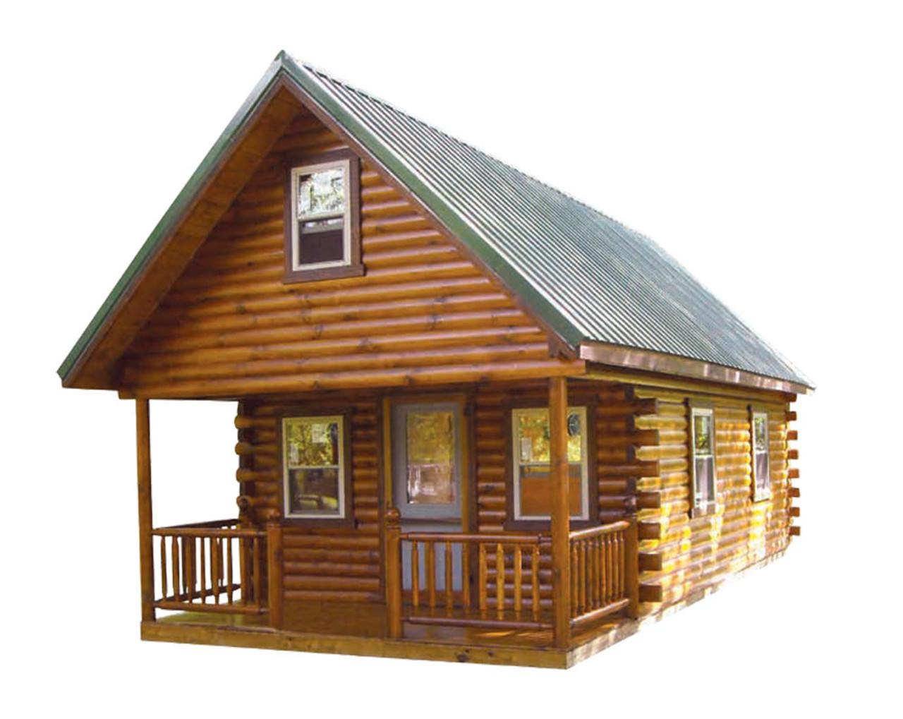 Hunter Deluxe Log Cabin