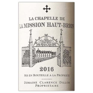 La Chapelle de La Mission Haut Brion 2016