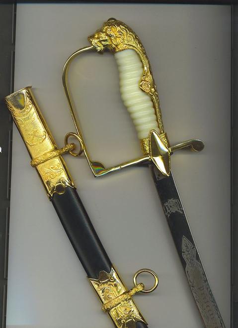 Argentine Coast Guard Academy dagger#631