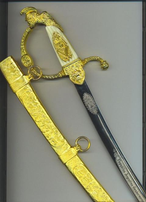 Argentine Gendarmerie dagger#477
