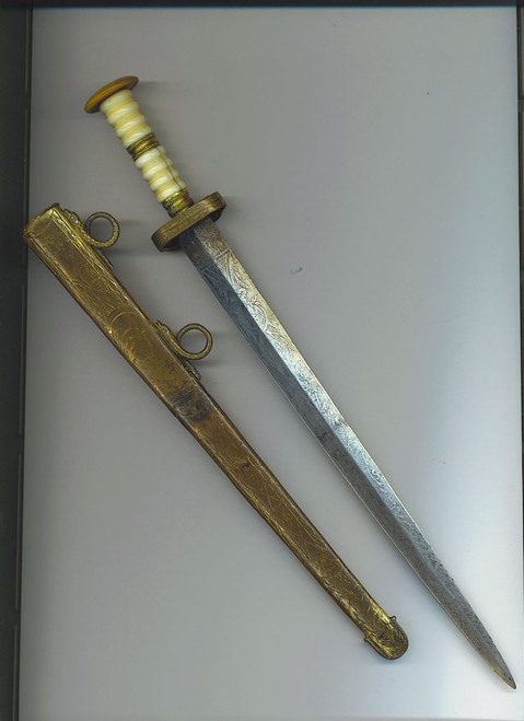 British Georgian Navy dirk #2  #714