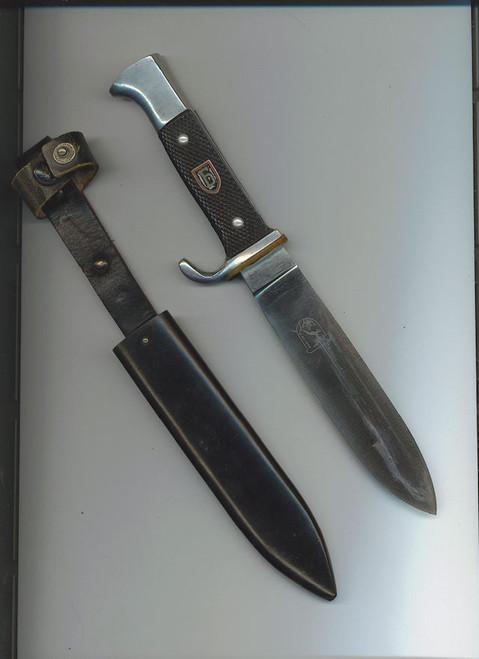 Bulgarian Brannik Youth knife#402