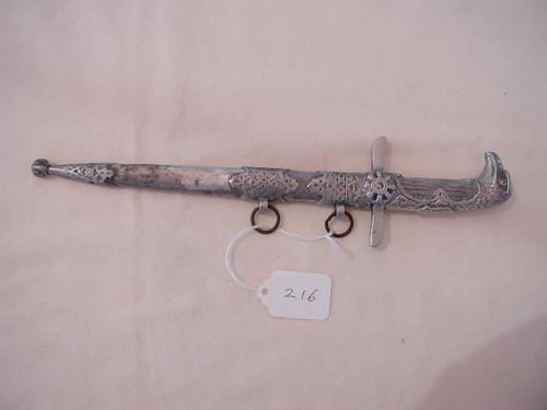 Royal Bulgarian Air Force Dagger in aluminum#486