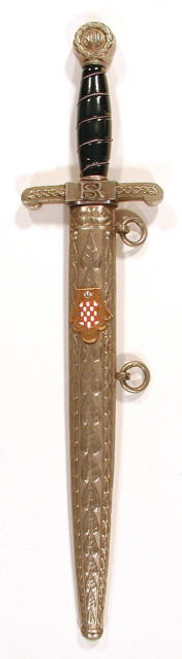 Croatian Treasury Guard Dagger   #702
