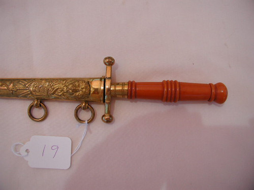 MODEL 1907 ROYAL DANISH NAVAL DAGGER  #376