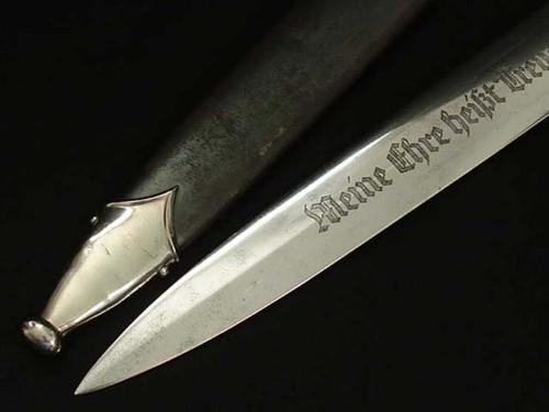 Mfg Ground SS Dagger#354