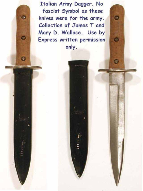 Italian Army Dagger - knife  #253