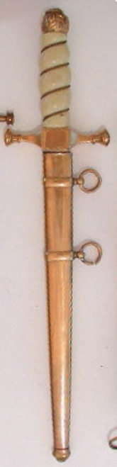Royal Romanian Naval Dagger   #485