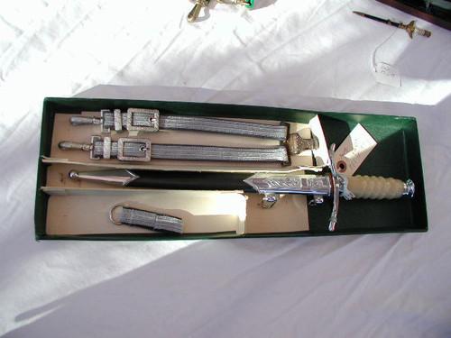 East German Army/Air Force Dagger in box # 690